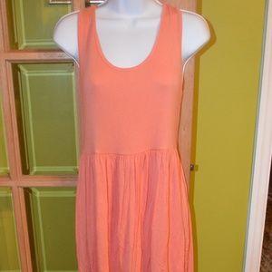 medium dress, orange